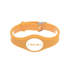 RFID Watch Buckle PVC Wristband