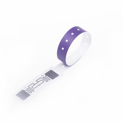 UHF Global EPC Gen2 Disposable Paper Wristband